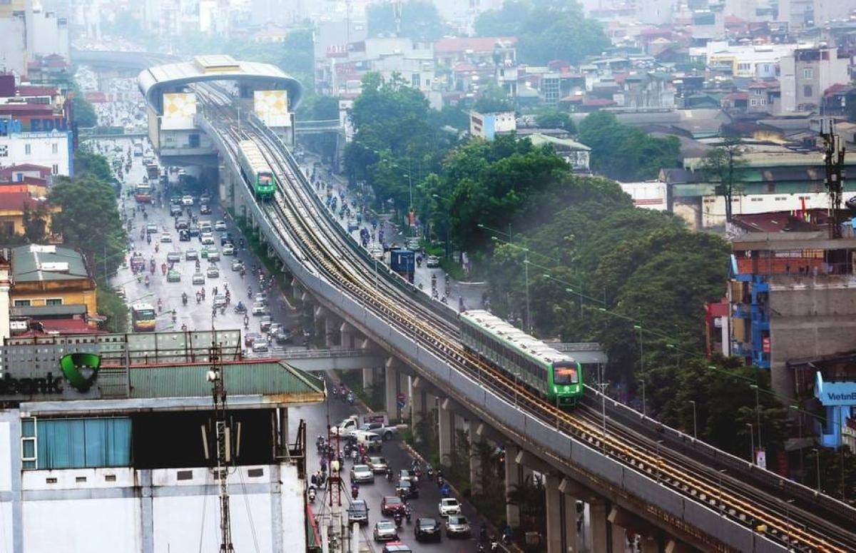 Đường sắt Cát Linh- Hà Đông đã kết thúc 20 ngày vận hành thử, từ12-31/12/2020.