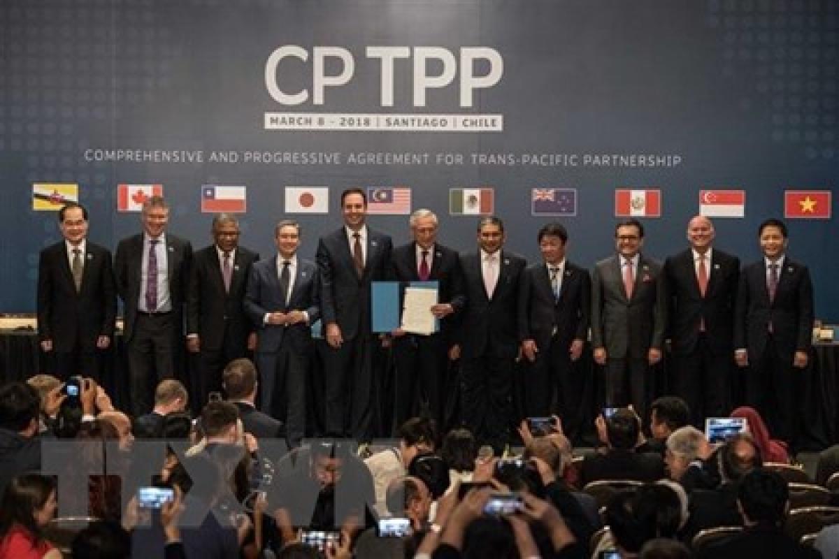 CPTPP chính thức có hiệu lực từ ngày 30/12/2018 (Ảnh TTXVN)