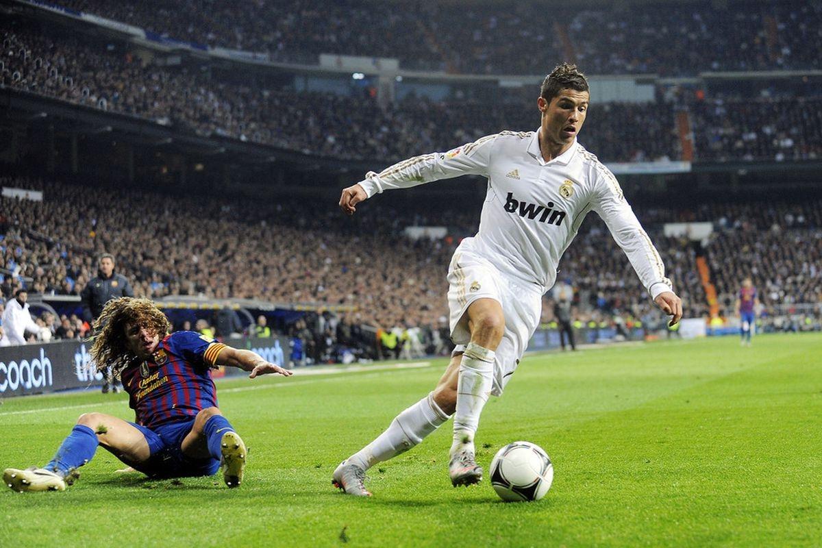 Ngày này 9 năm trước, Ronaldo ghi bàn từ cú nước rút ấn tượng... (Ảnh: Getty).