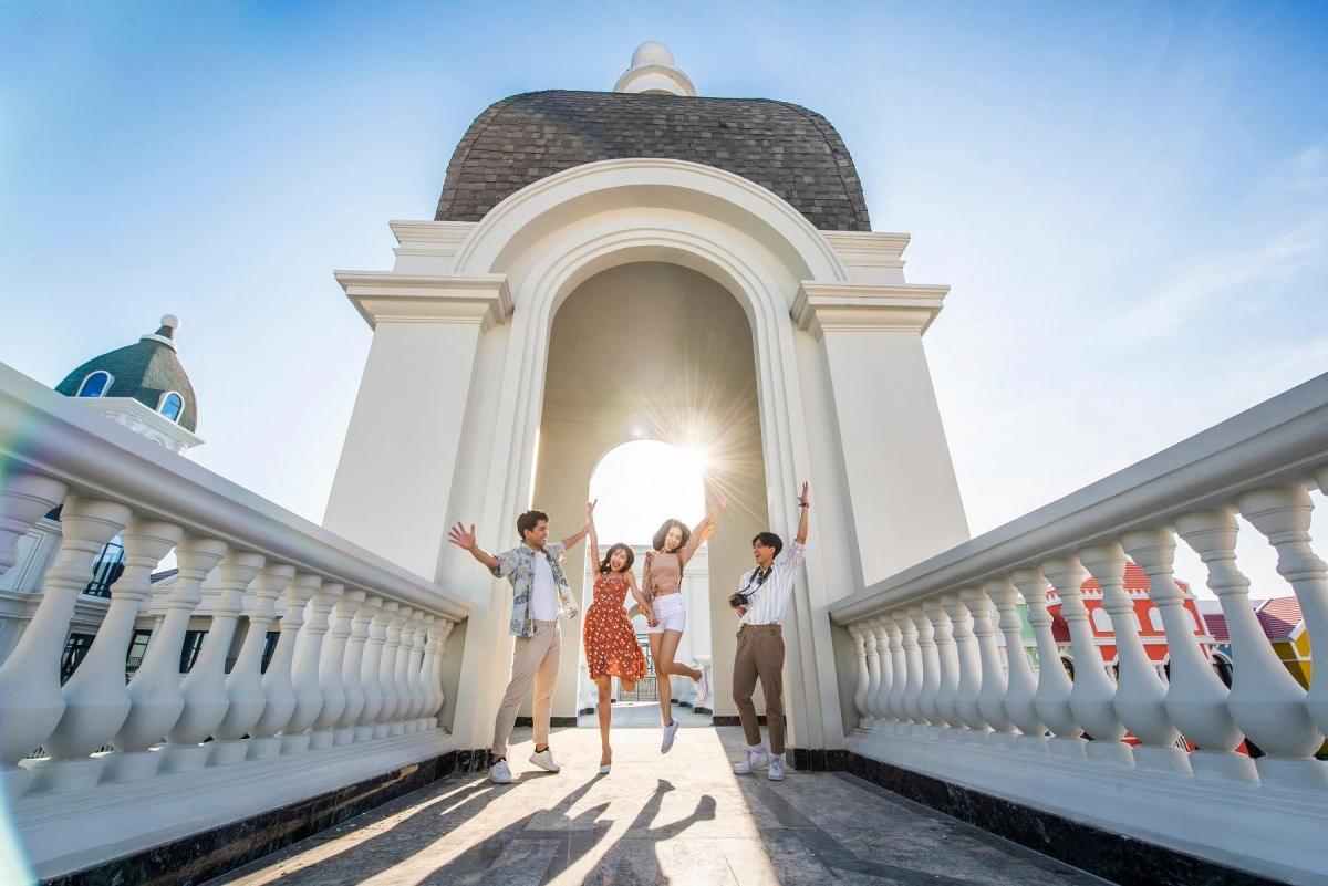 Grand World Phú Quốc nằm trong quần thểPhú Quốc United Center, sẵn sàng khai trương vào quý I/2021.