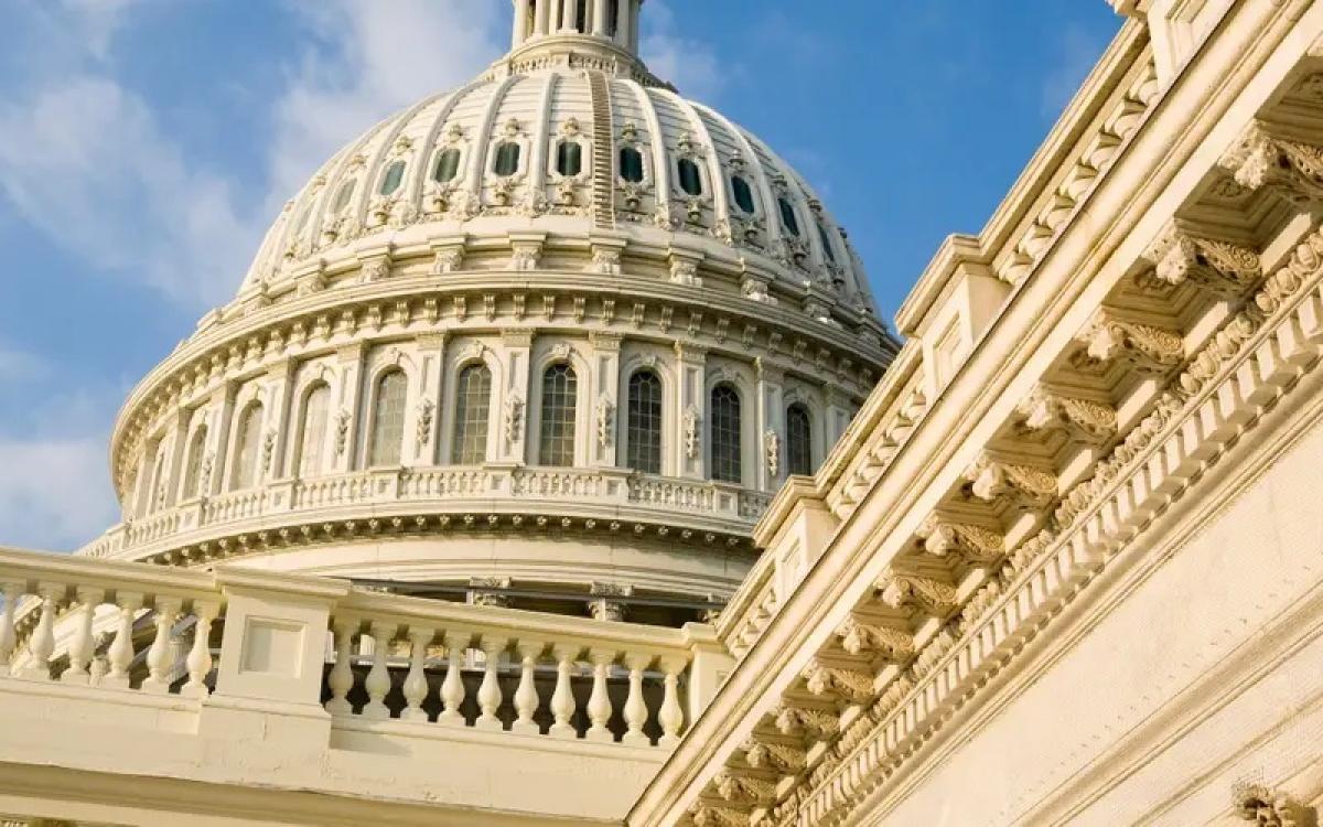 Điện Capitol, trụ sở Quốc hội Mỹ. Ảnh: Getty.