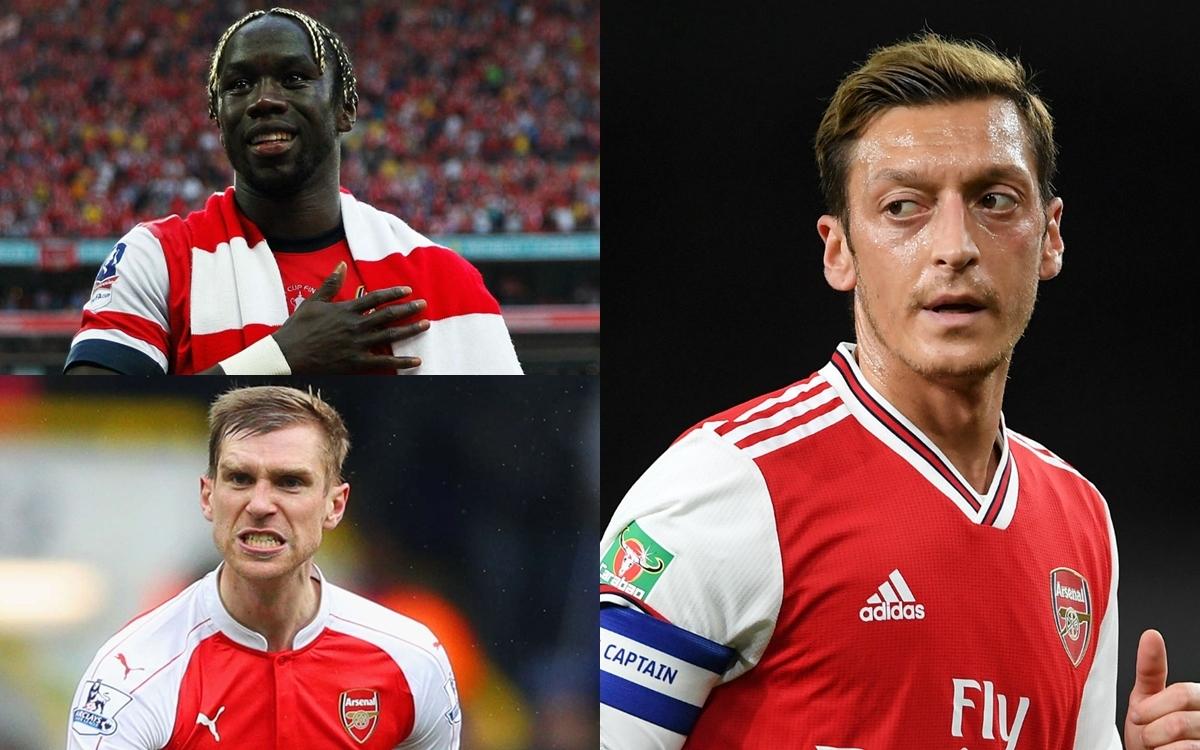Đội hình xuất sắc nhất của Arsenal do Oezil lựa chọn trong quãng thời gian mà tiền vệ người Đức chơi bóng ở Pháo thủ gồm những gương mặt sau: