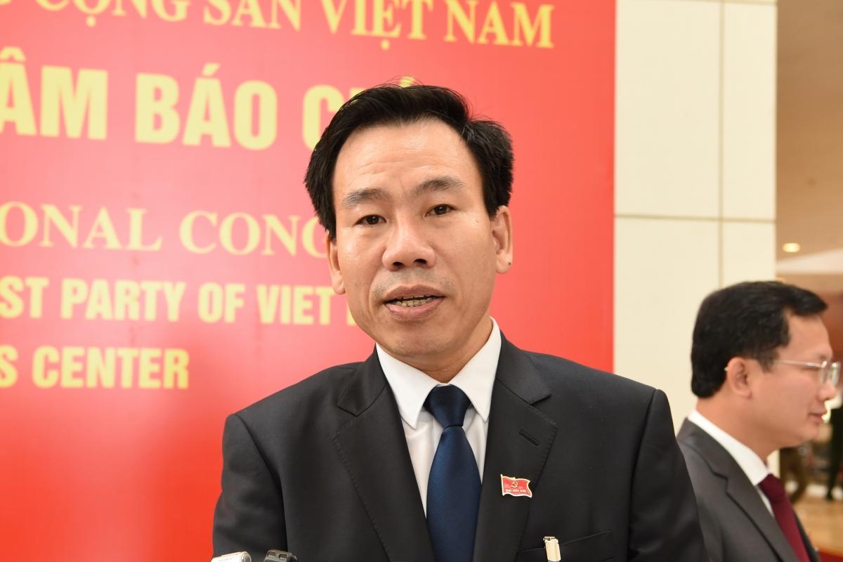 Đại biểuDương Đức Huy, Trưởng Ban Tuyên giáo Tỉnh ủy Lào Cai.