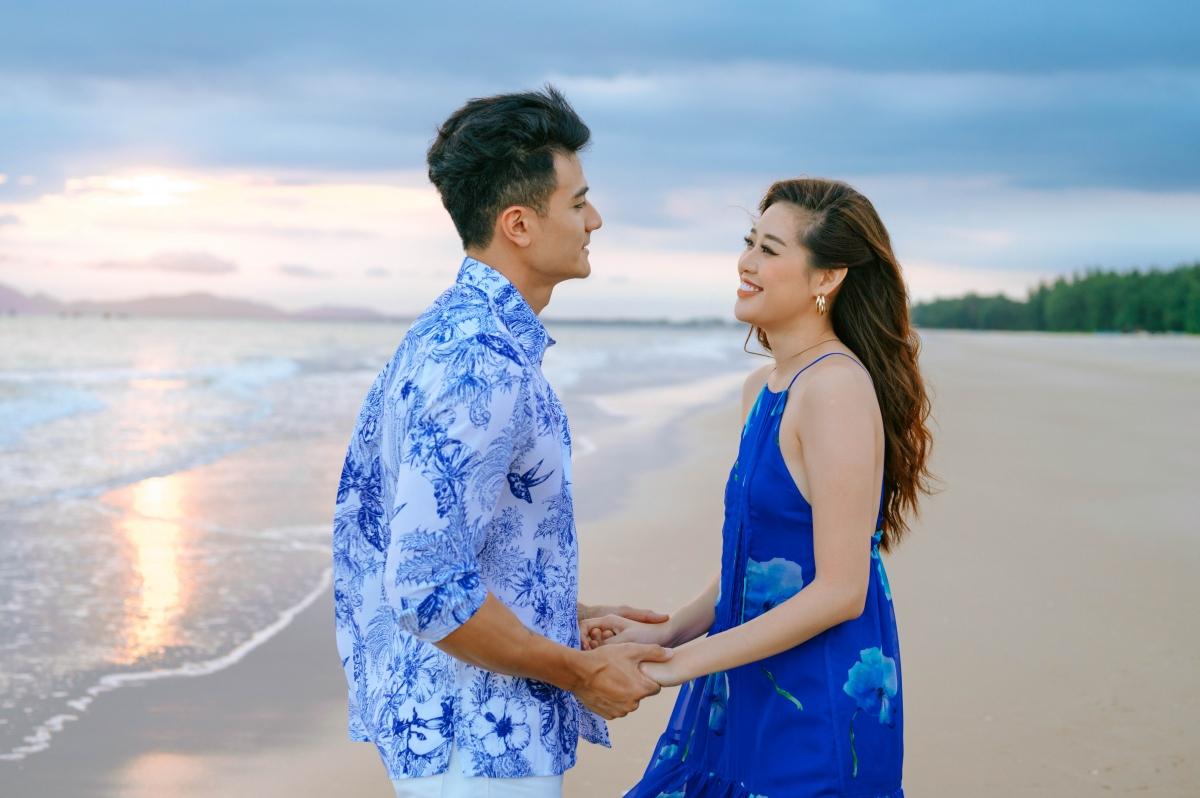 Được biết, đây làmột dự án nghệ thuật mà người mẫu Vĩnh Thuỵ và Hoa hậu Khánh Vân tham gia trong vai cặp đôi lãng mạn.