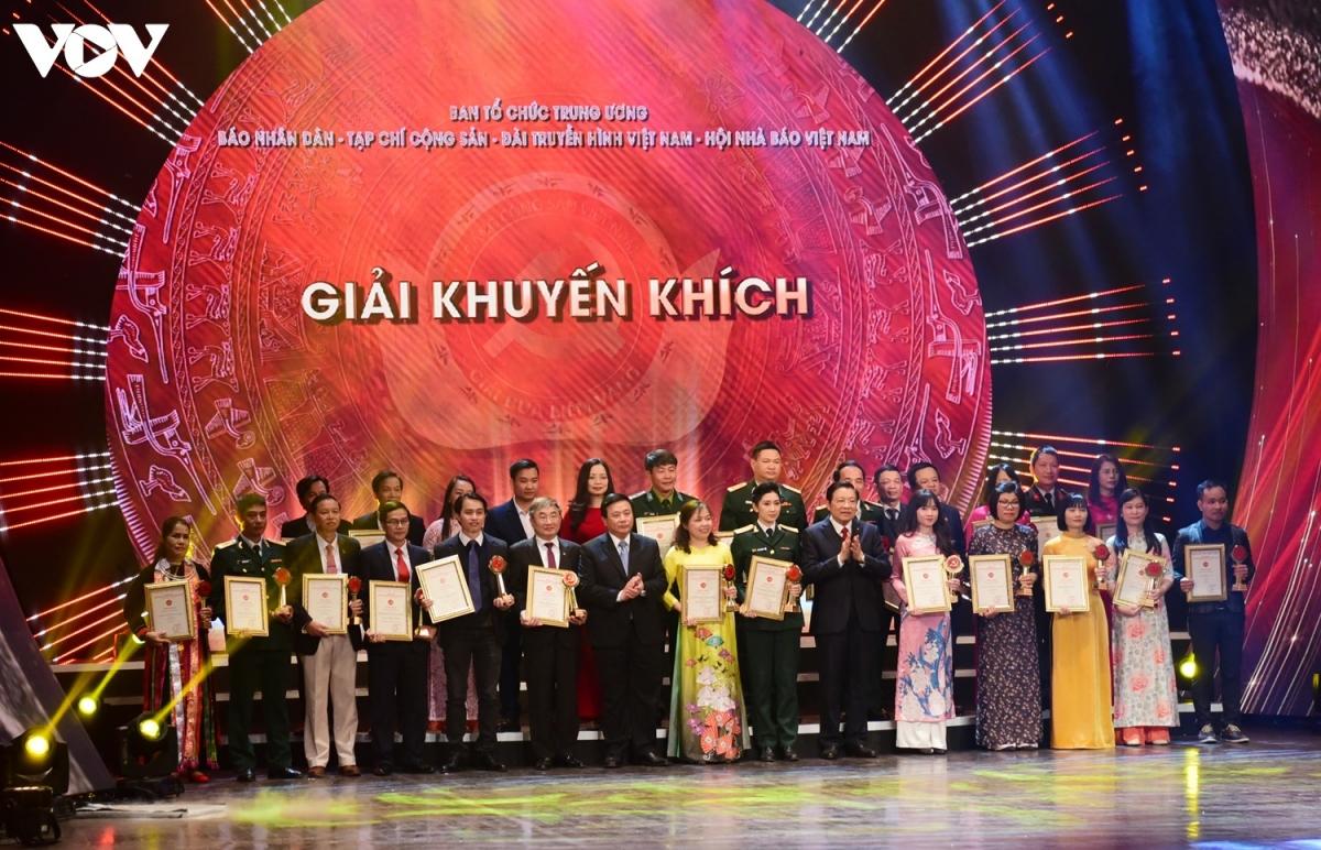 27 Giải Khuyến khích được trao cho các tác giả, nhóm tác giả.