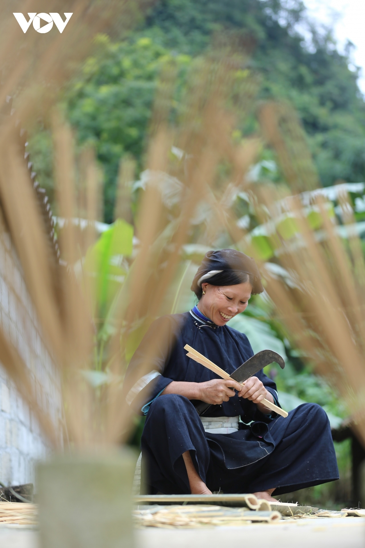 For several hundreds of years, members of the Nung ethnic group follow their traditional craft of making incense sticks from agarwood trees.