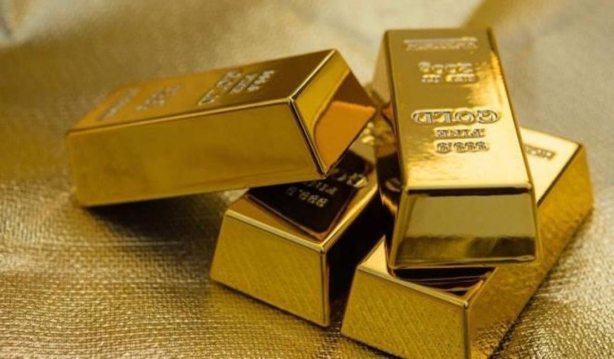 Giá vàng trong nước và thế giới tiếp tục giảm. (Ảnh: KT)