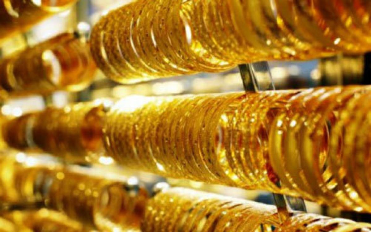 Giá vàng thế giới tiếp tục giảm. (Ảnh: KT)