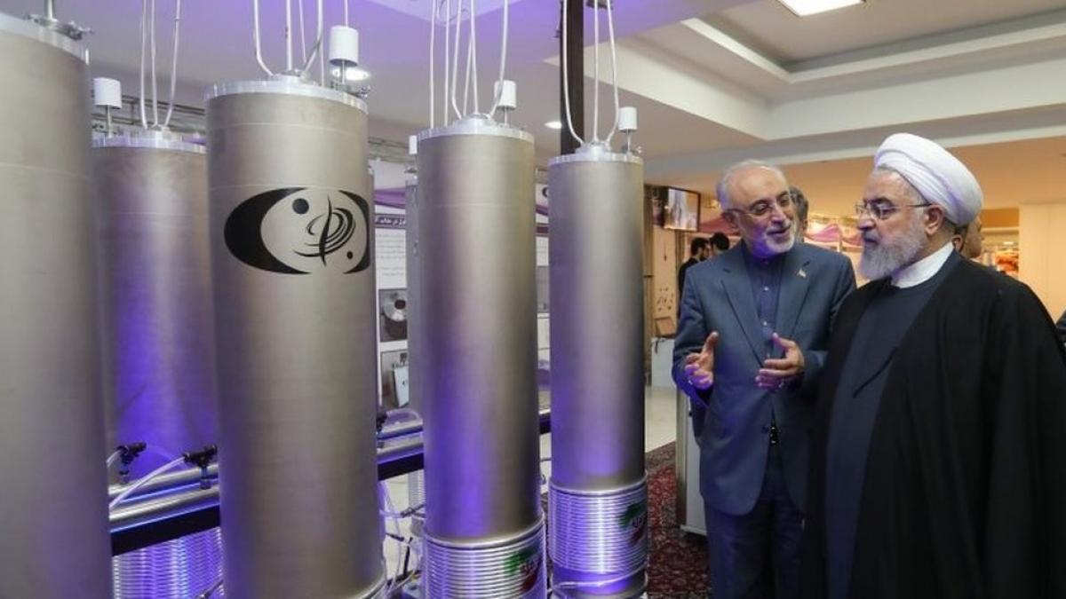 Tổng thống Iran Hassan Rouhani đã lên tiếng kêu gọi Mỹ quay trở lại Thỏa thuận hạt nhân. Ảnh minh họa: AFP.