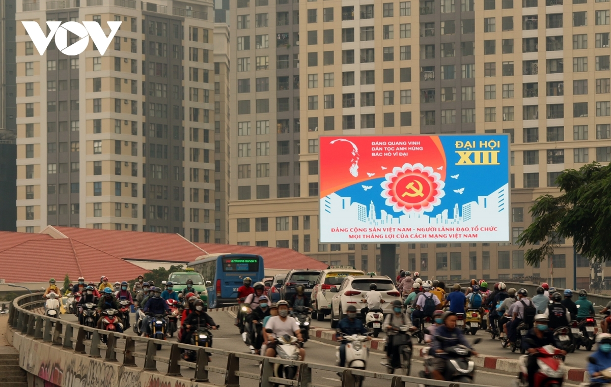 Many areas throughout HCM City streets appear even more brilliant than normal in the buildup to the special event.