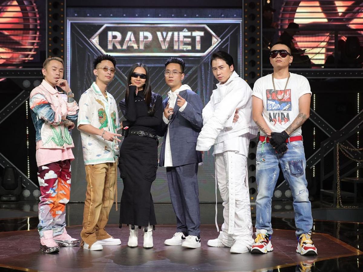 Rap Việt giành giải thưởng Chuỗi chương trình của năm.