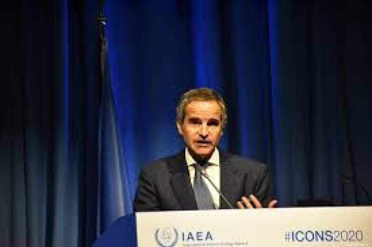 Tổng giám đốc Cơ quan năng lượng nguyên tử quốc tế Rafael Grossi. Ảnh: Middle East Monitor.