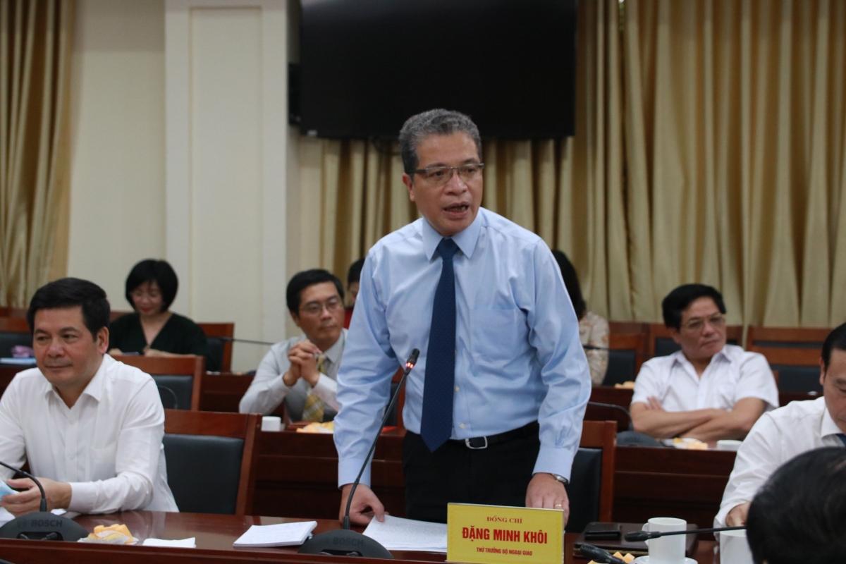 Ông Đặng Minh Khôi - Thứ trưởng Bộ Ngoại giao Việt Nam.