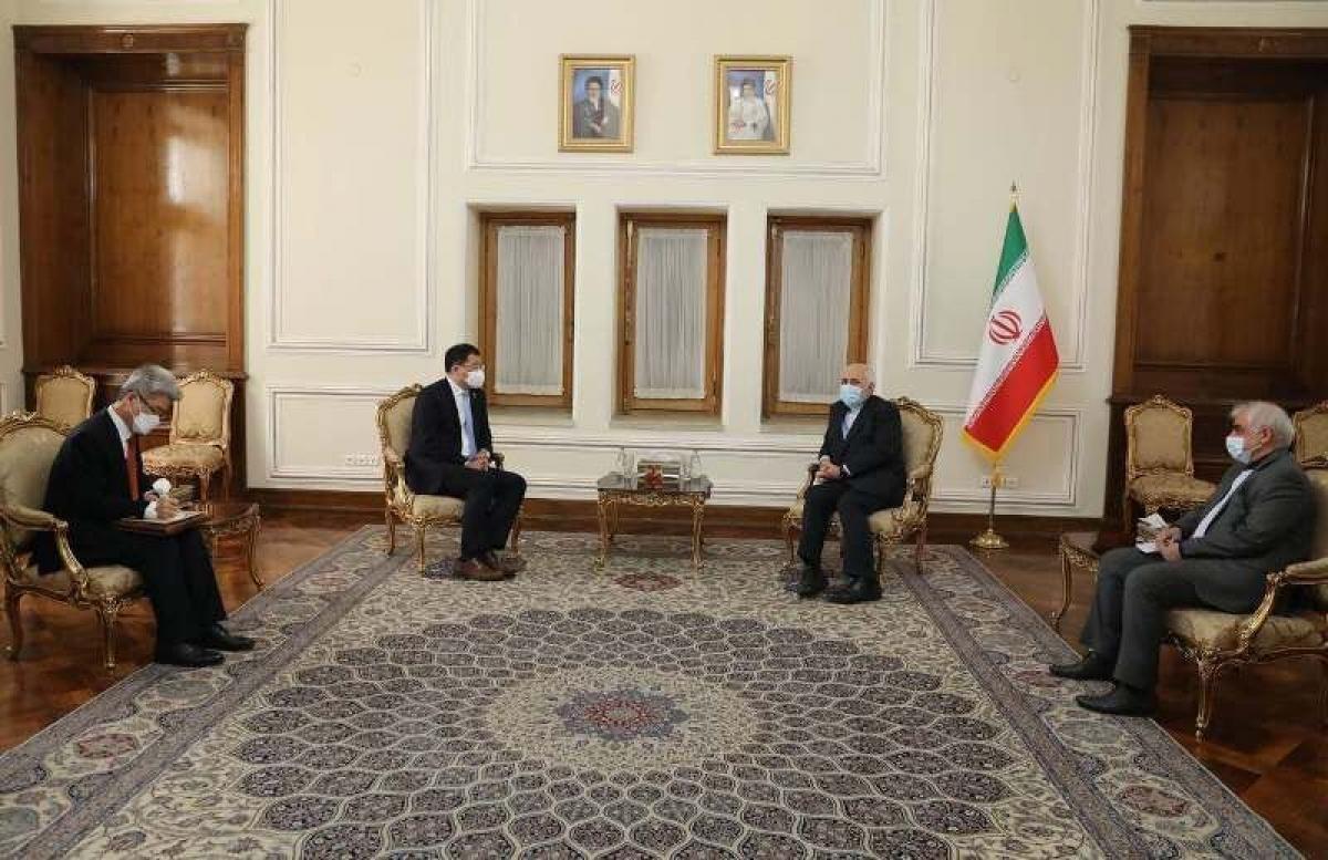 Iran và Hàn Quốc tiếp tục thảo luận về thả tự do cho tàu chở dầu. Ảnh: IRNA.