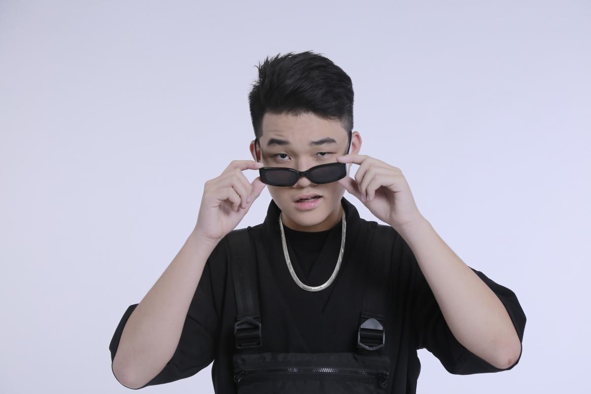 Rapper Kenji.