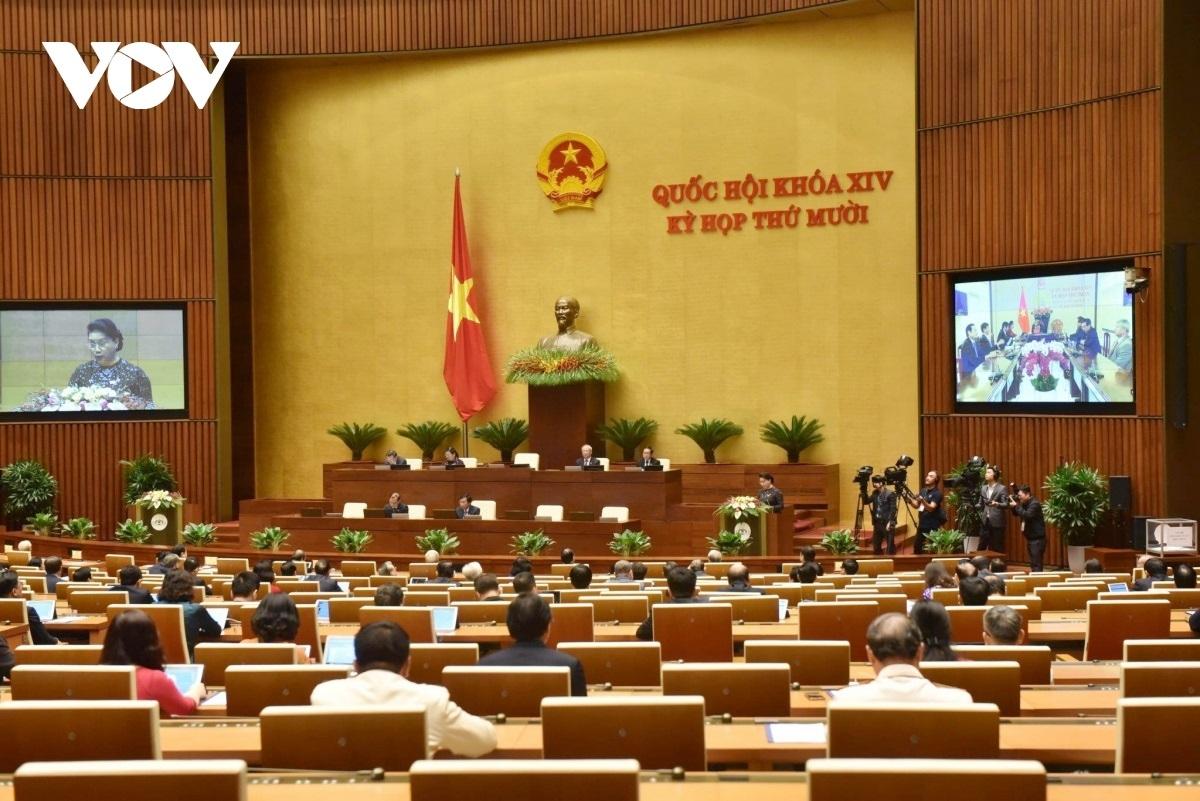 Kỳ họp thứ 10 Quốc hội khóa 14