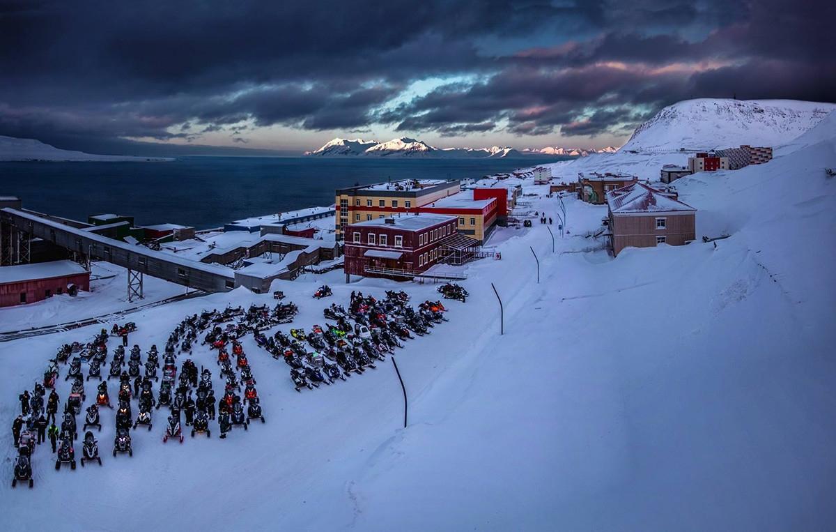 Khu định cư của Nga ở vùng Bắc cực của Na Uy. Ảnh: Vladimir Arnautov.
