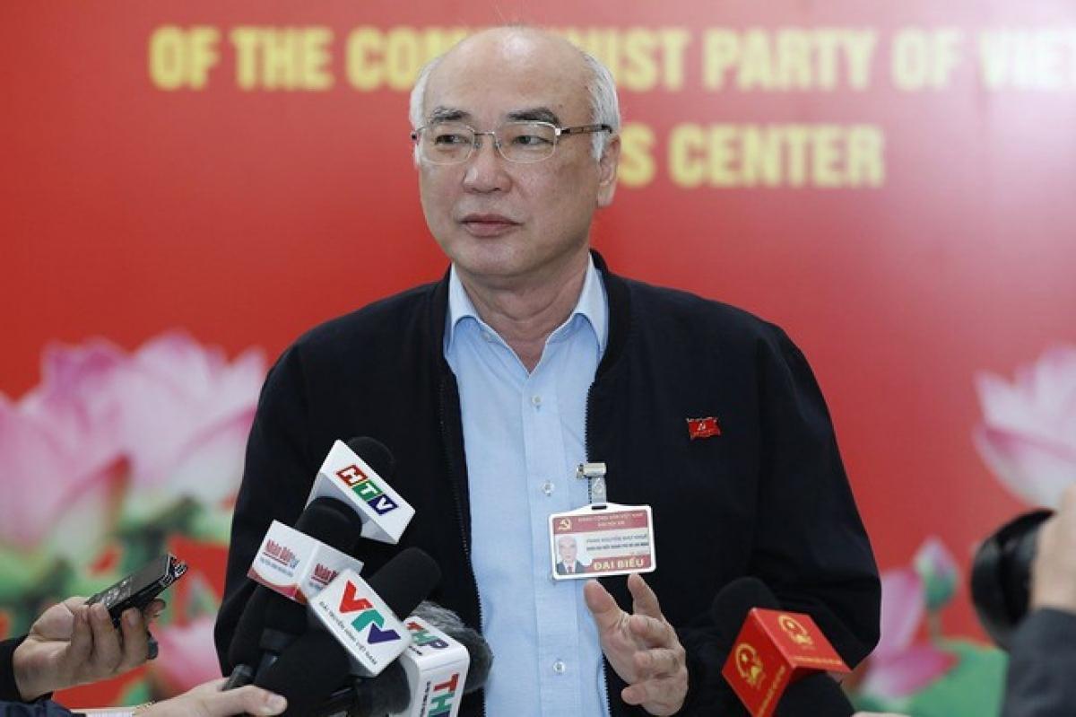 Delegate Phan Nguyen Nhu Khue of Ho Chi Minh City (Photo:plo.vn)