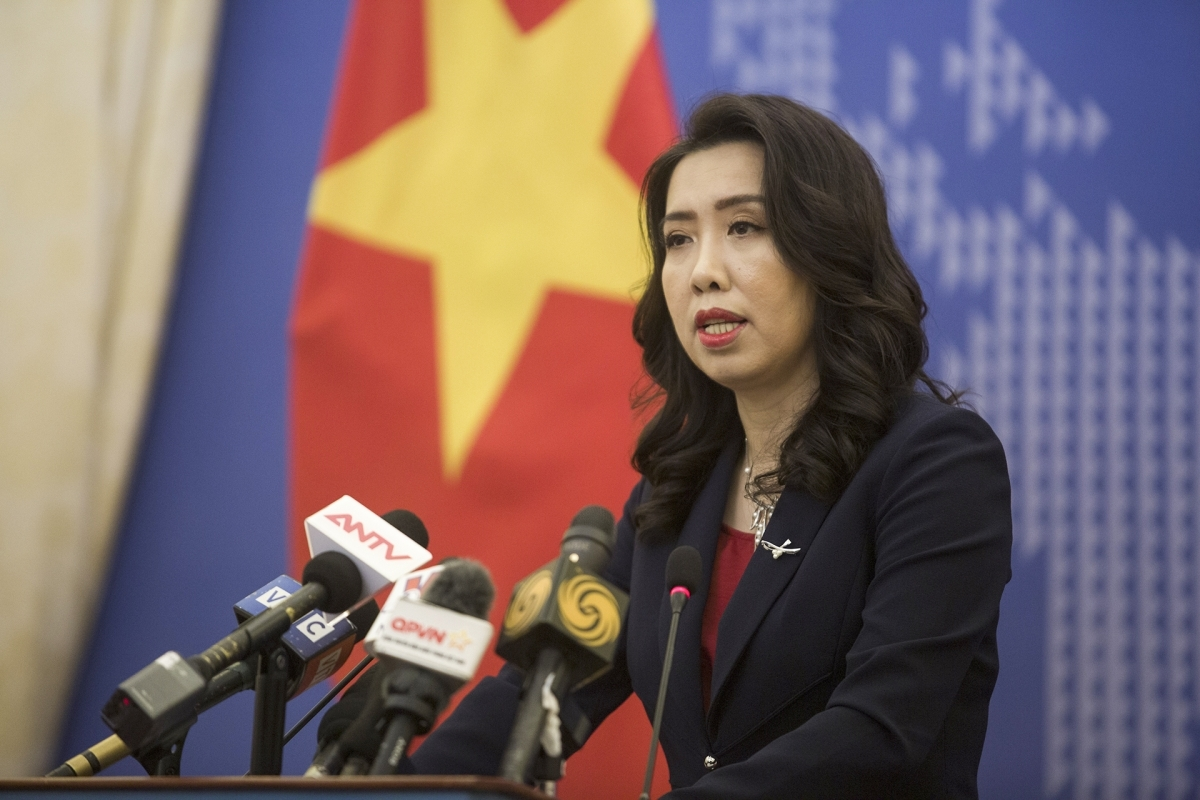 Foreign Ministry spokesperson Le Thi Thu Hang