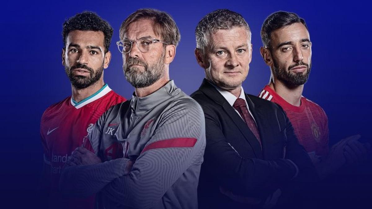 Trận đại chiến giữa MU và Liverpool sẽ quyết định ngôi vô địch Premier League mùa này? (Ảnh: Sky Sports)