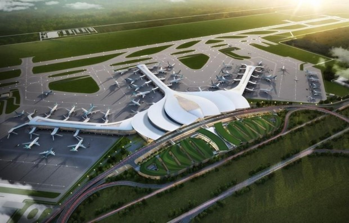 Located 40km to the east of Ho Chi Minh City, the Long Thanh airport is expected to relieve overloading at the current Tan Son Nhat international airport in the southern metropolis of Ho Chi Minh City, now the country's largest airport.