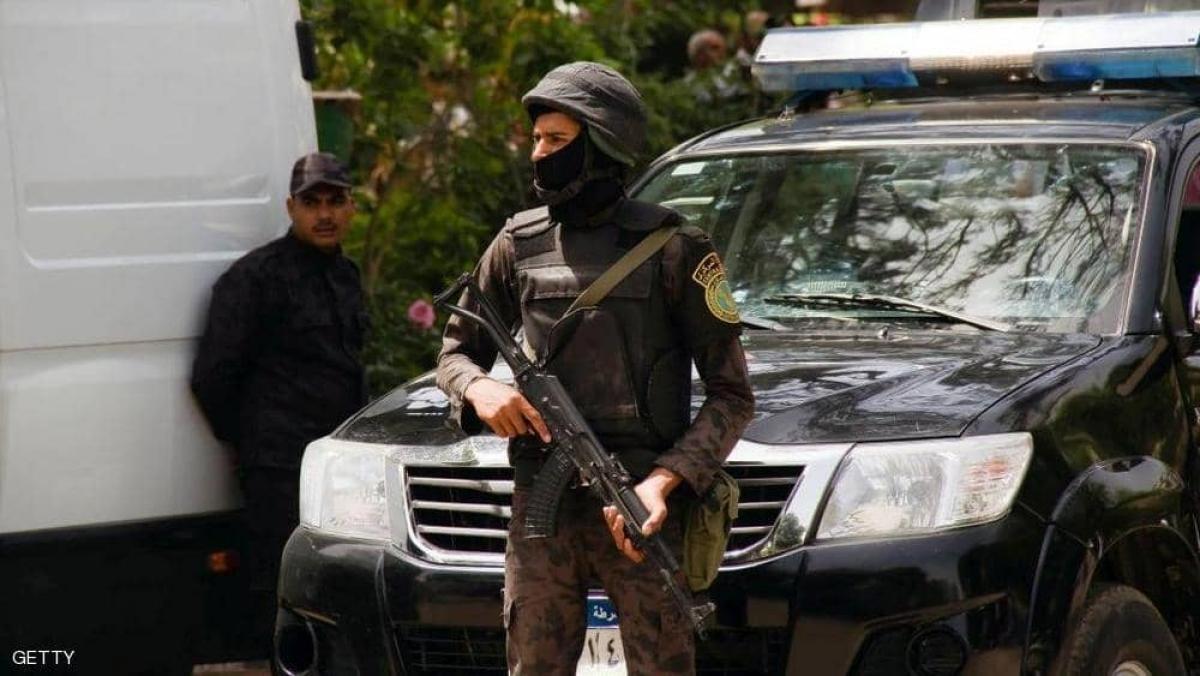 Lực lượng an ninh Ai Cập tăng cường.Ảnh: Getty.