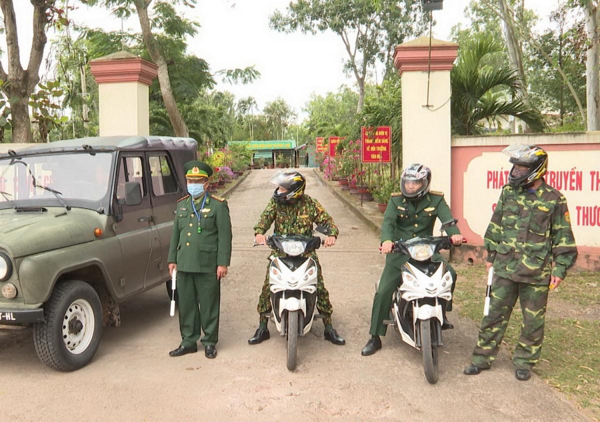 Lực lượng tuần tra, kiểm soát trên tuyến biên giới