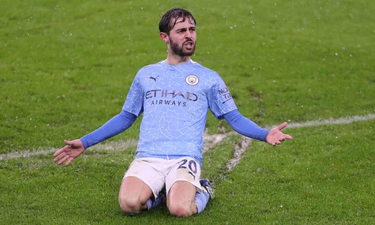 Bernardo Silva là người hùng của Man City. (Ảnh: Getty)