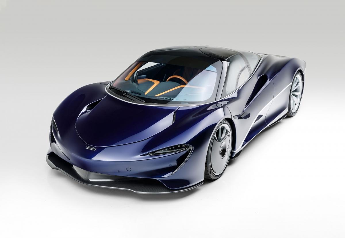 Chiếc Speedtail này mang số khung 36, ban đầu được giao đến đại lý McLaren Philadelphia vào năm ngoái.