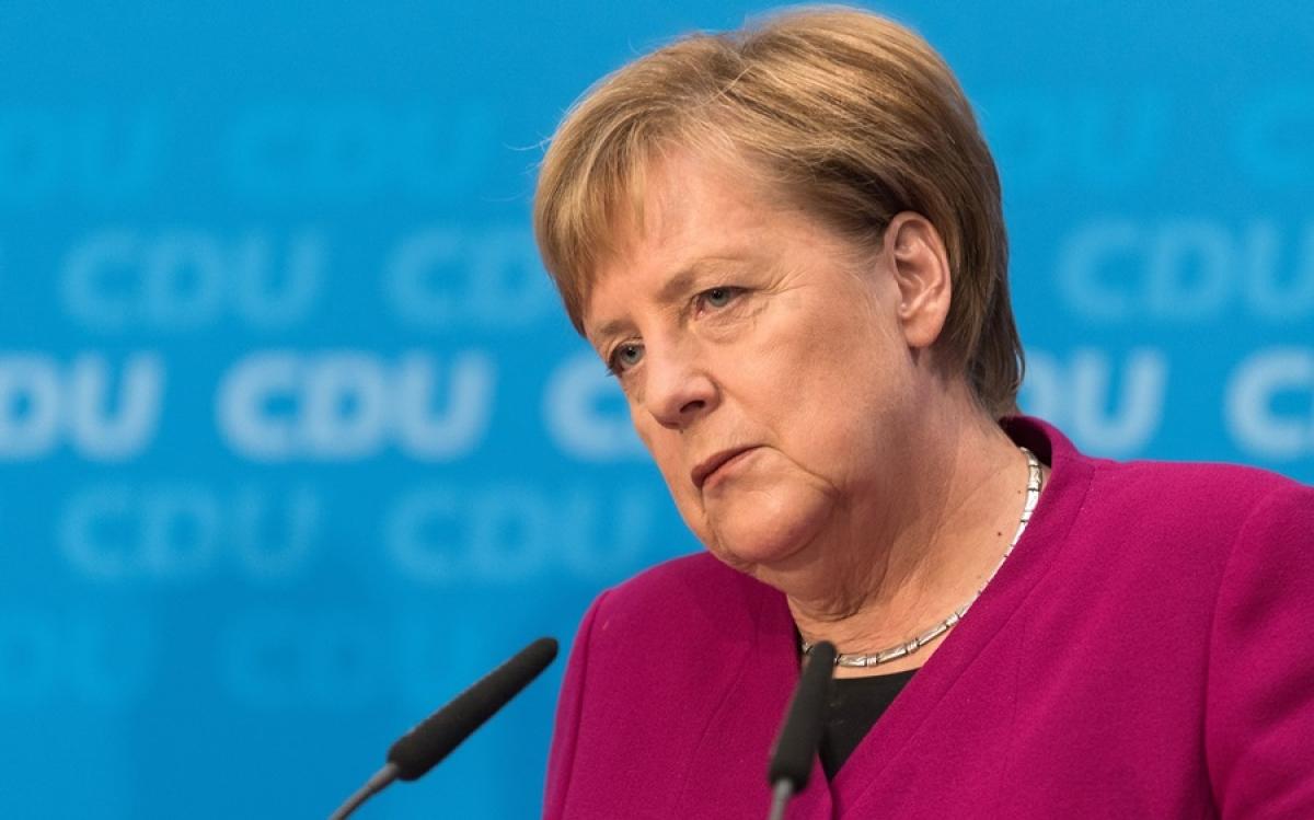 Thủ tướng Đức Merkel. Ảnh: Time.