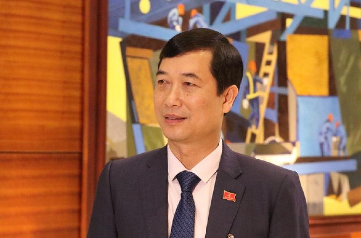 Delegate Nguyen Minh Tuan of Yen Bai province (Photo:tuoitre.vn)