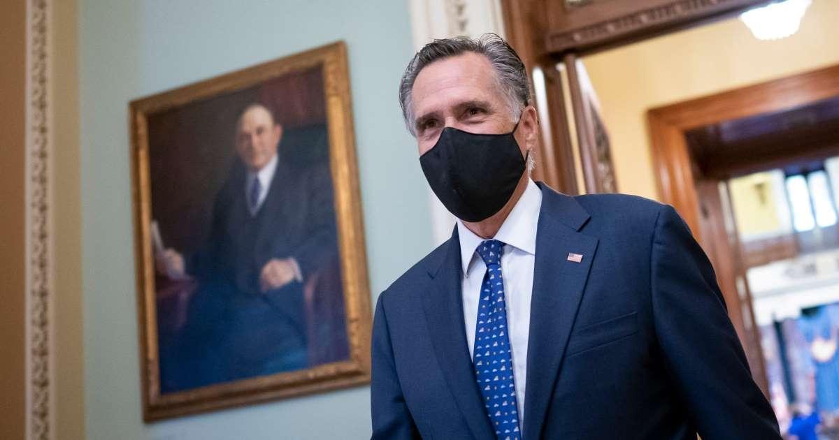 Thượng nghị sỹ đảng Cộng hòa Mitt Romney. Ảnh: AP