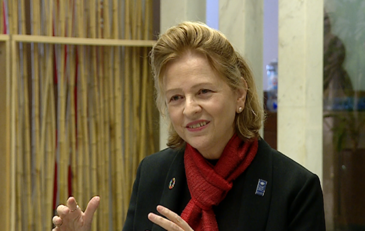 Resident Representative of the UN Development Programme (UNDP) in Vietnam Caitlin Wiesen