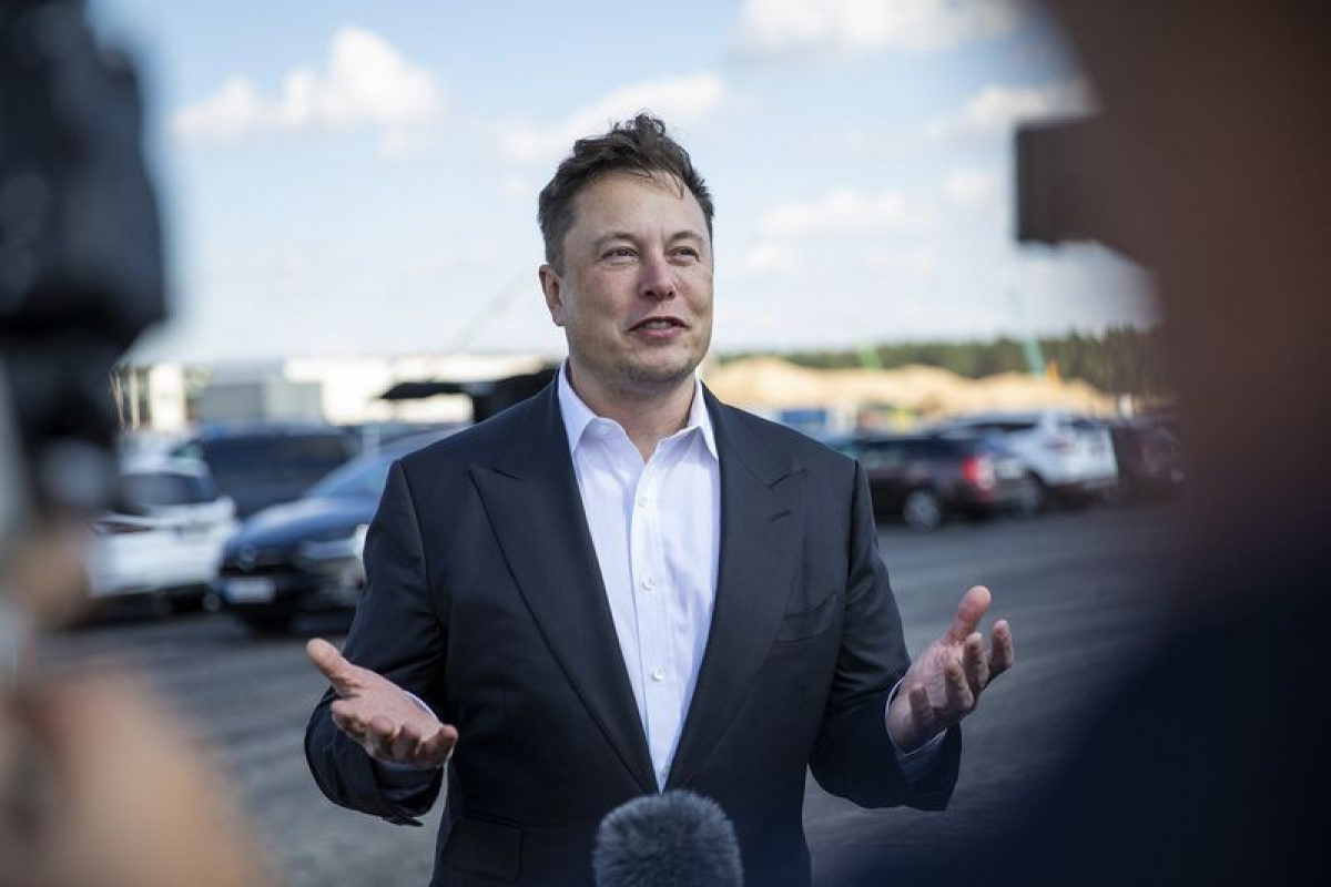 Tài sản của ông Elon Musk đạt mức 194,8 tỷ USD, theo thống kê của Bloomberg.