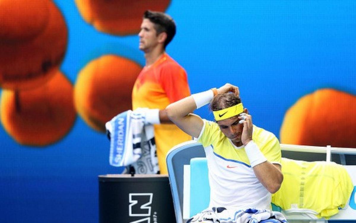 Ngày này 5 năm trước, Nadal có trận thua ngay từ vòng 1 của Australian Open. (Ảnh: Getty).