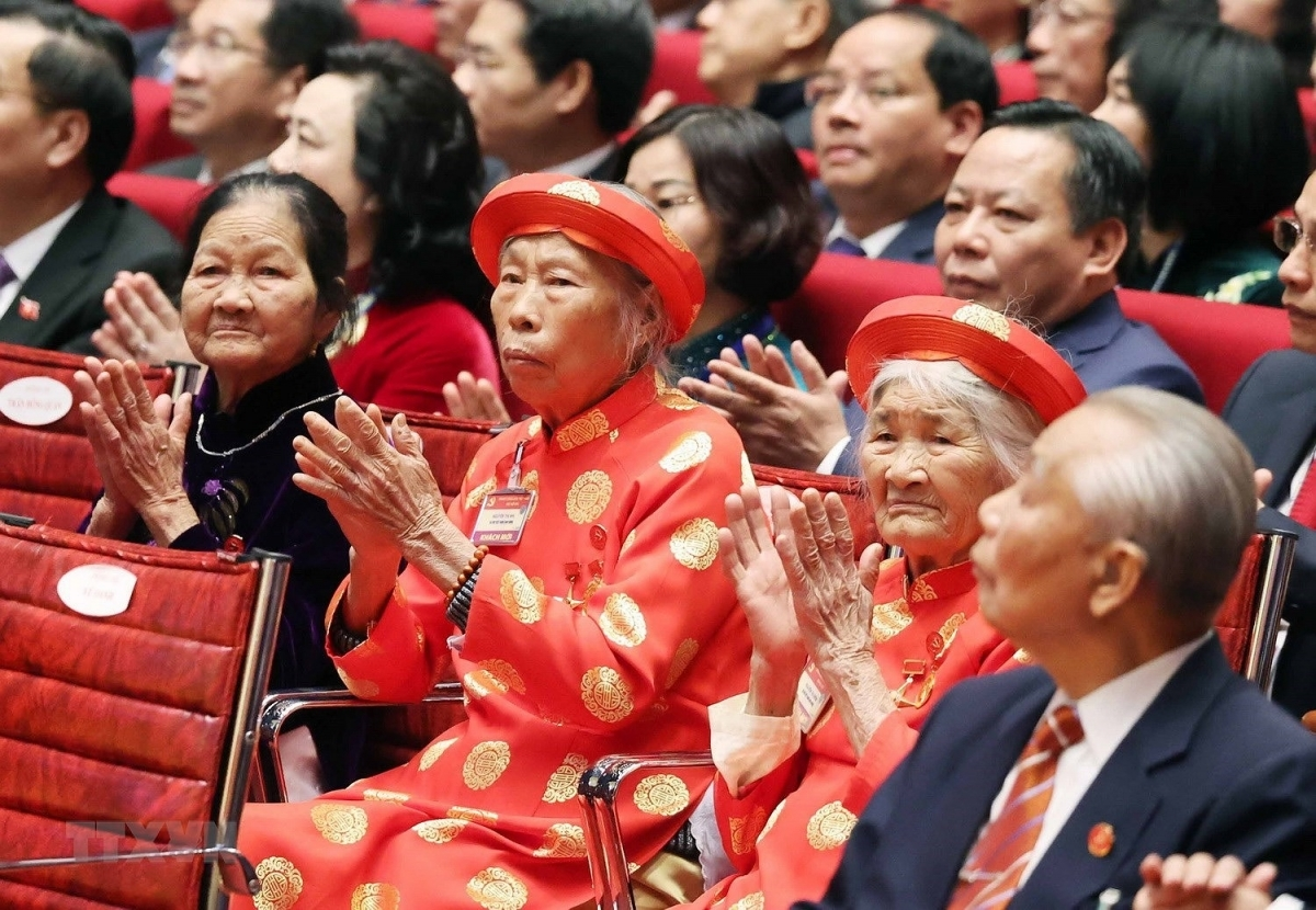 Heroic Vietnamese mothers have been invited to attend the congress. (Photo: VNA)
