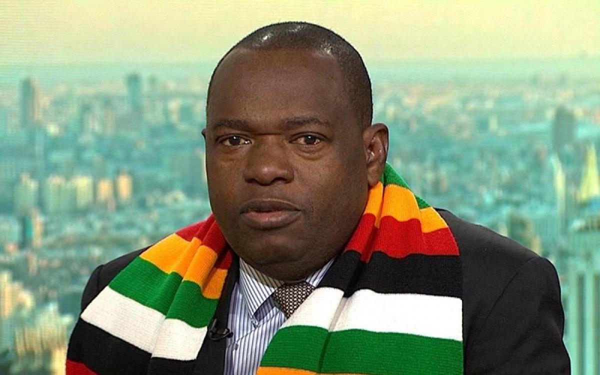 Ngoại trưởng Zimbabwe Sibusiso Moyo. Ảnh: 263chat.
