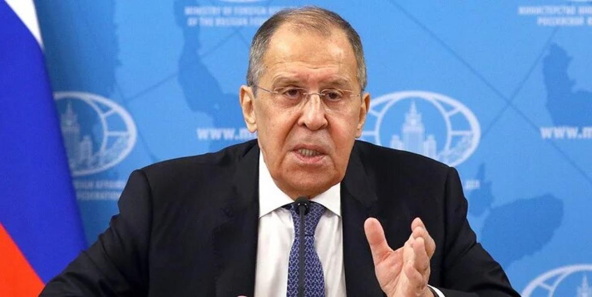 Bộ trưởng Ngoại giao Nga S.Lavrov. Nguồn: Tass