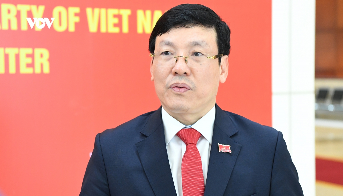 Đại biểu Lê Duy Thành - Chủ tịch UBND tỉnh Vĩnh Phúc