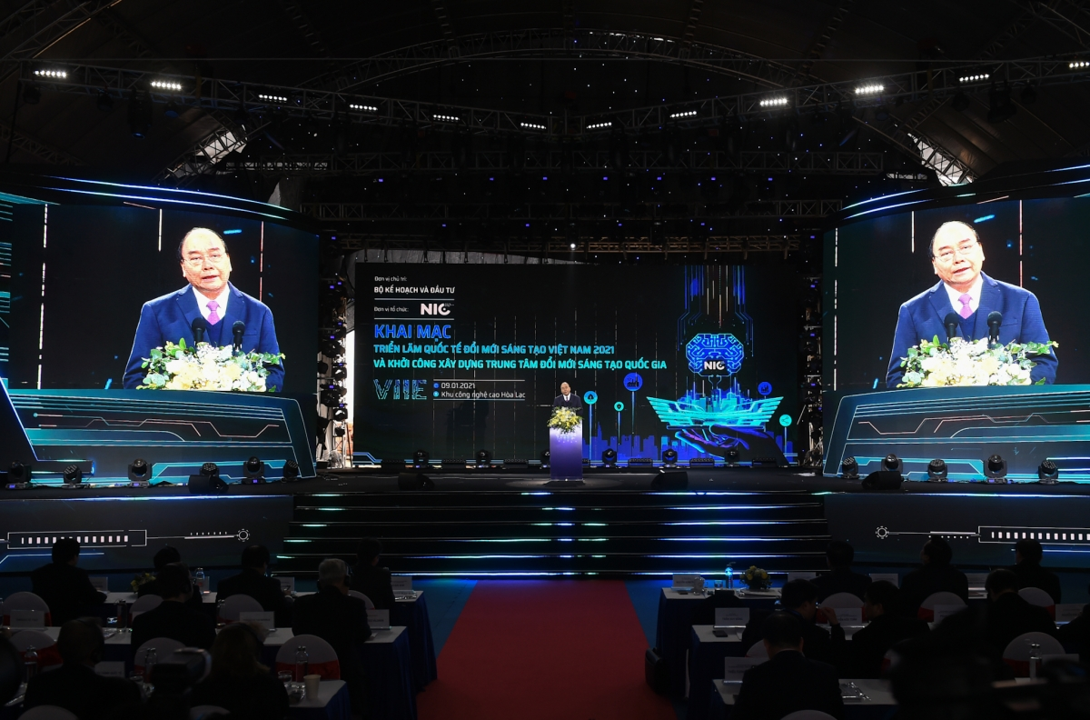 Thủ tướng Nguyễn Xuân Phúc phát biểu tại sự kiện. - Ảnh: VGP/Quang Hiếu