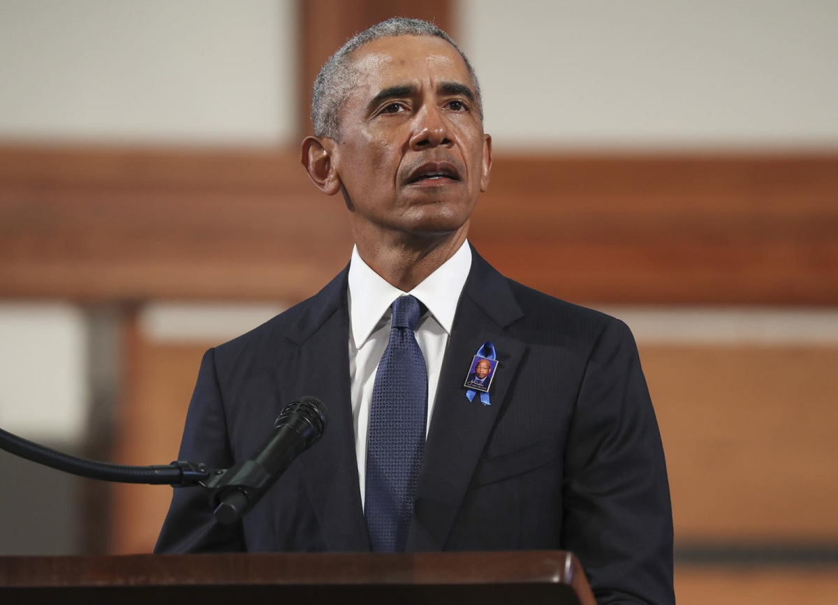 Cựu Tổng thống Mỹ Barack Obama. Ảnh: Getty