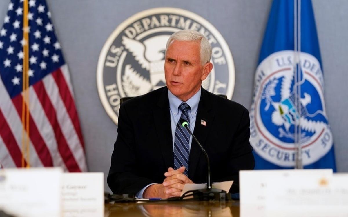 Phó Tổng thống Mike Pence. Ảnh: AP.