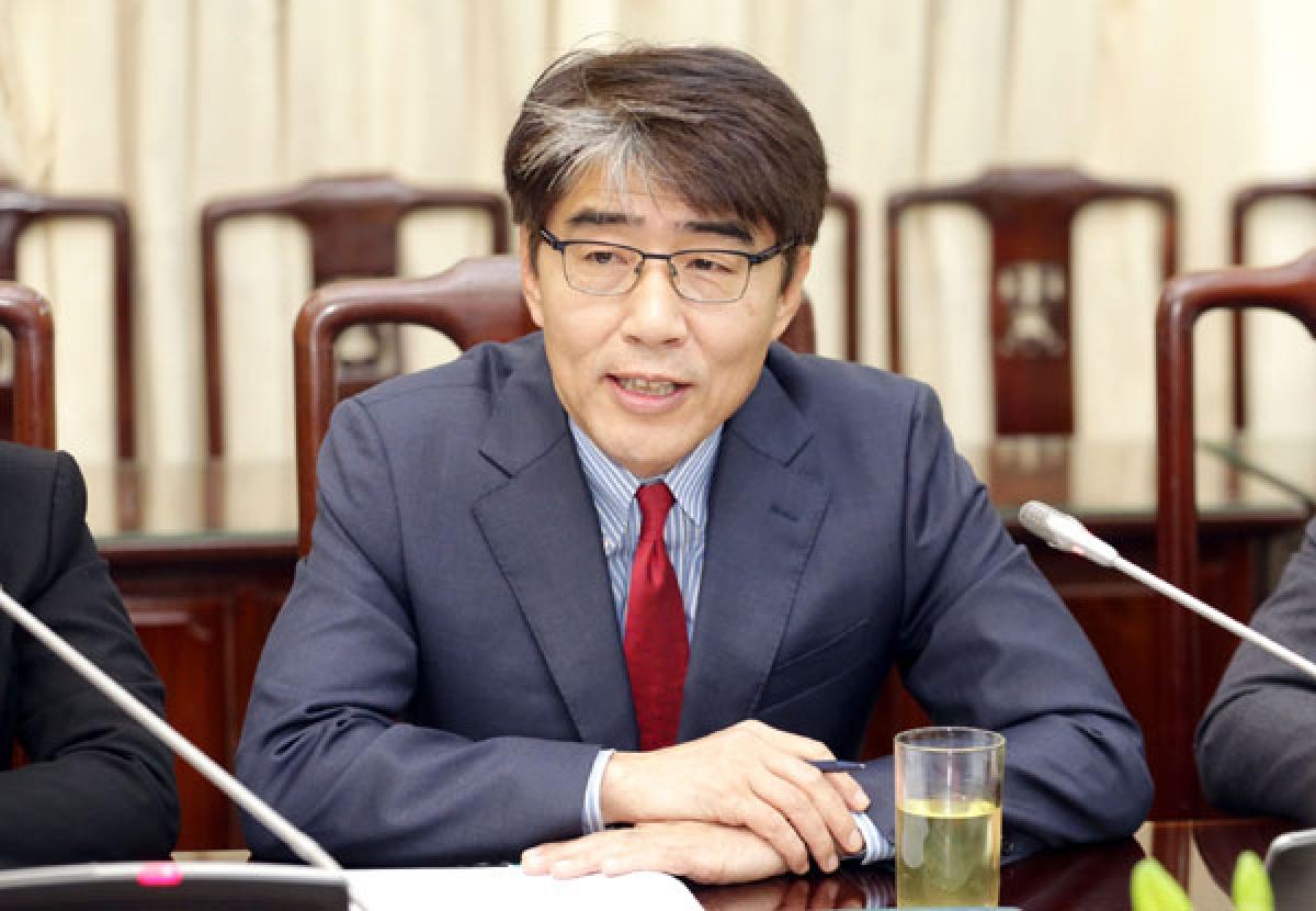 Ông Chang - Hee Lee Giám đốc ILO Việt Nam. (Ảnh: LĐXH)