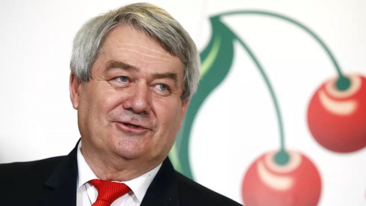 Ông Vojtech Filip, Chủ tịch Đảng Cộng sản Séc và Moravia.