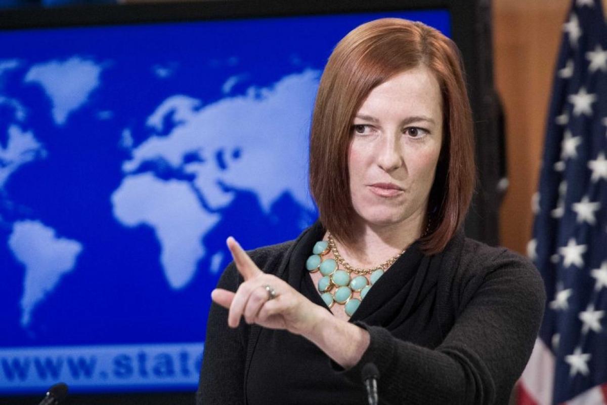 Bà Jen Psaki, người sẽ làm Thư ký báo chí Nhà Trắng dưới thời chính quyền ông Biden. Ảnh: Reuters
