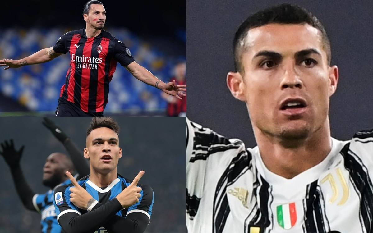 10 cầu thủ ghi bàn nhiều nhất Serie A 2020/2021 tính đến thời điểm này gồm có: