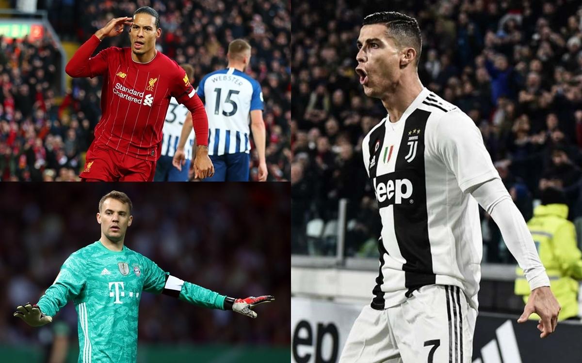 Đội hình xuất sắc nhất châu Âu năm 2020 do người hâm mộ bình chọn gồm những gương mặt sau: