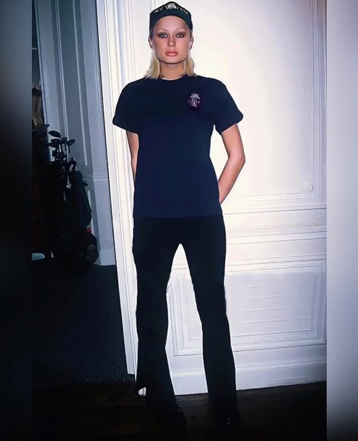 Paris Hilton hồi năm 18 tuổi