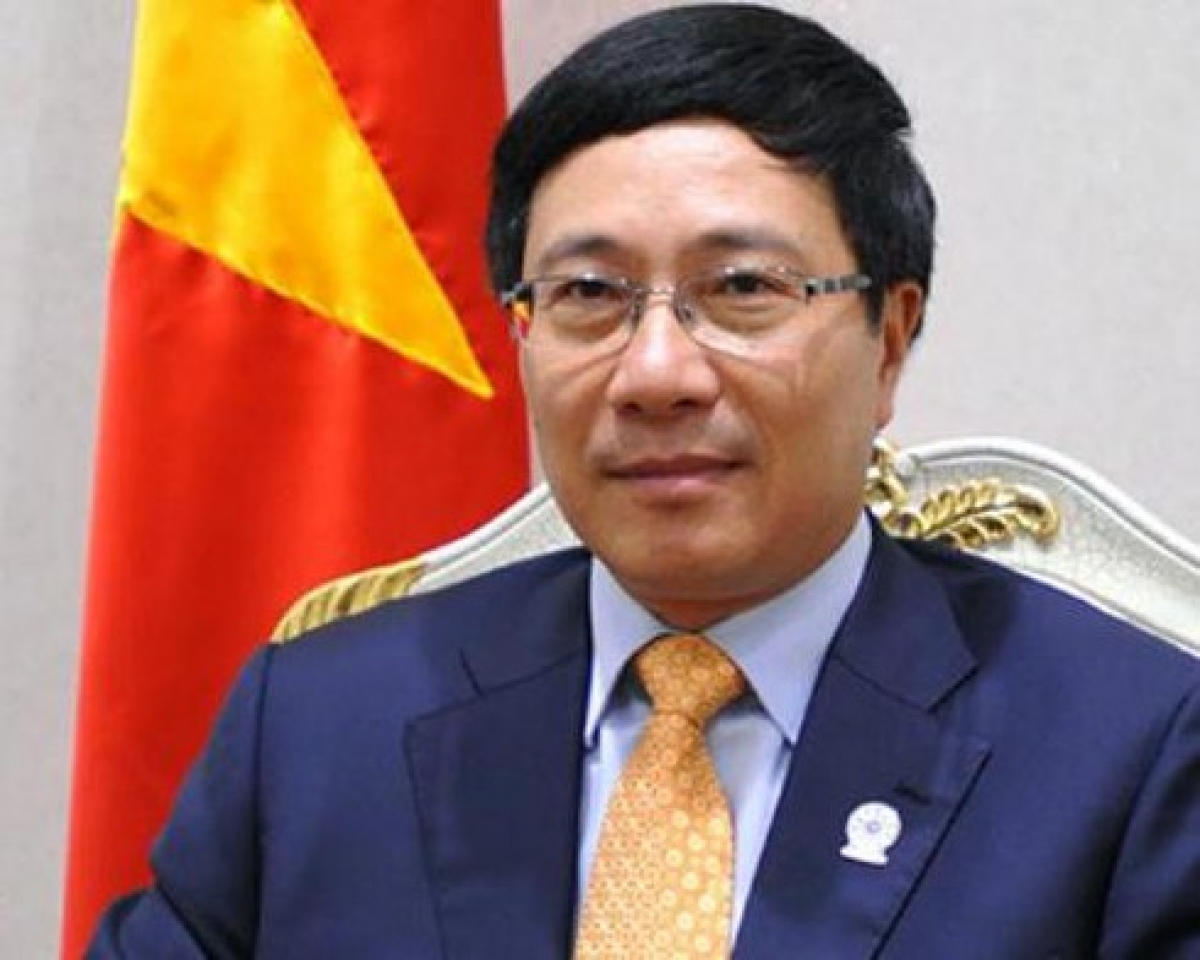 Deputy Prime Minister and Foreign Minister of Vietnam Pham Binh Minh