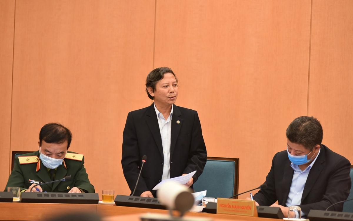 Phó Giám đốc Sở Y tế Hoàng Đức Hạnh, hiện tại Hà Nội chưa cần thiết phải phong tỏa
